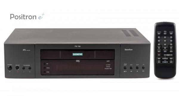 Siemens FM766 Hifi Stereo VHS Videorecorder