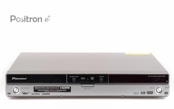 Pioneer DVR-545H DVD Festplattenrecorder silber