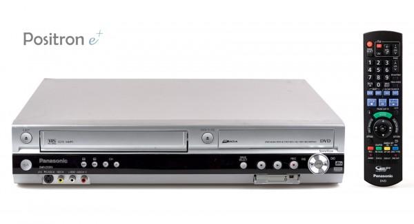 Panasonic DMR-ES35V VHS DVD Recorder silber