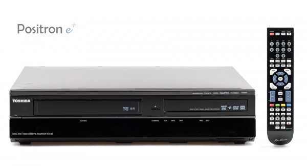 Toshiba RDXV60KB VHS DVD HDD Recorder