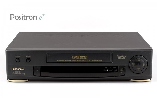 Panasonic 6 Kopf VHS Videorecorder mit K-Laufwerk