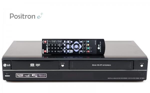 LG RCT689H VHS DVD Recorder Kombigerät