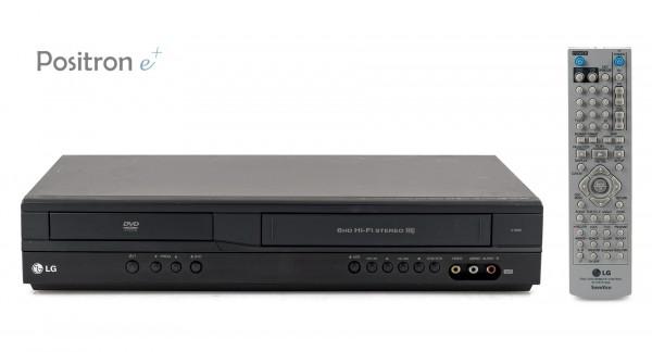 LG V180B DVD VHS Kombination
