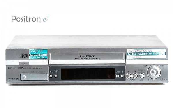 JVC HR-S6950 silber SVHS Videorecorder
