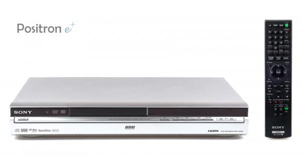 Sony RDR-HX650 DVD Festplattenrecorder silber