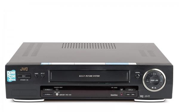 JVC HR-J658 VHS Videorecorder schwarz