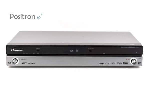 Pioneer DVR-555HX DVD Festplattenrecorder silber
