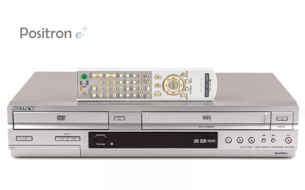 Sony SLV-D930 DVD VHS Kombination silber