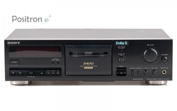 Sony TC-K511S 3-Kopf Kassettenrecorder Schwarz