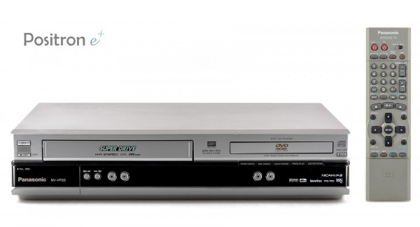 Panasonic NV-VP25 silber DVD VHS Kombination