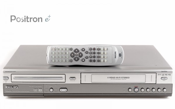 Philips DVDR630VR VHS DVD Recorder Kombigerät
