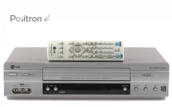 LG LV4981 VHS Videorecorder
