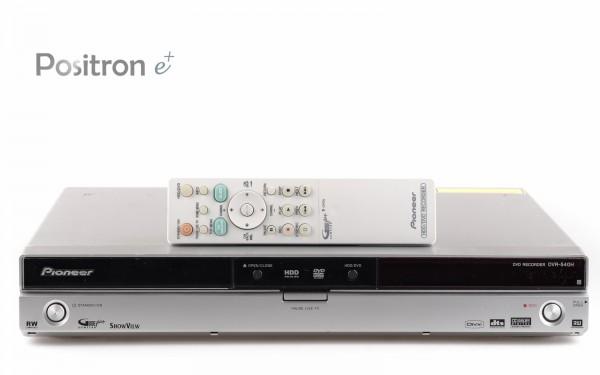 Pioneer DVR-540H DVD Festplattenrecorder silber