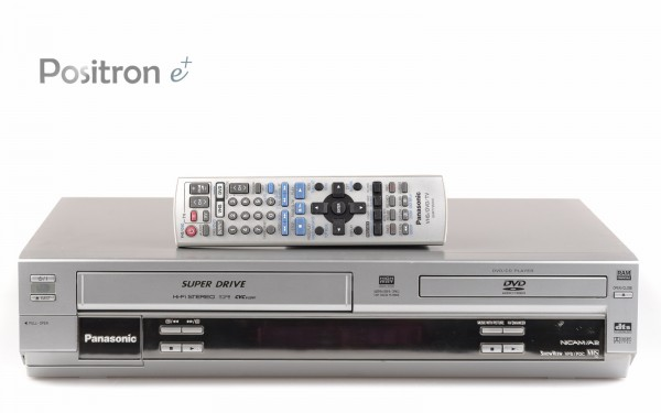 Panasonic NV-VP26 DVD Player VHS Recorder silber
