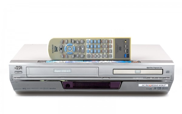 JVC HR-XVS30 SVHS Recorder / DVD Player