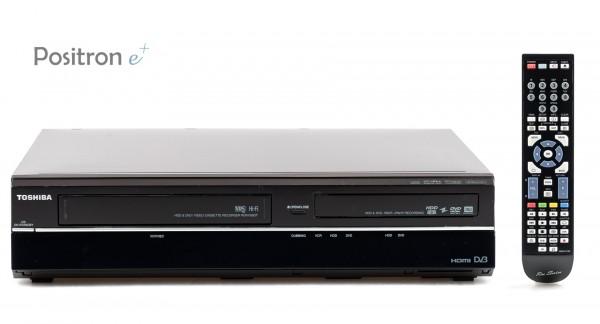 Toshiba RDXV59DTKB VHS DVD HDD Recorder