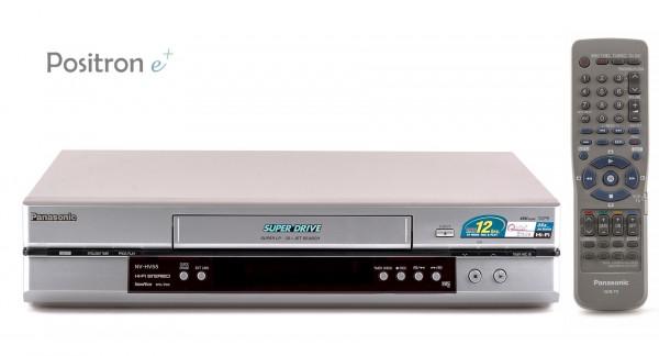 Panasonic NV-HV55 VHS Videorecorder silber