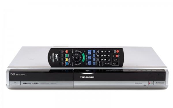Panasonic DMR-EX77 DVD HDD Recorder silber