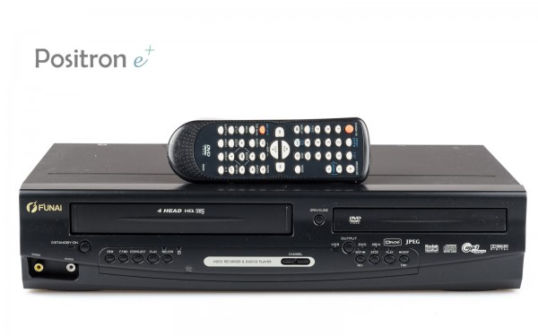 Funai D8A-M1000DB DVD Player VHS Videorecorder
