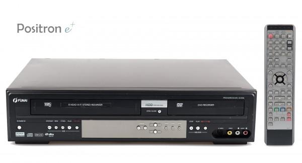 Funai T3A-A8182DB VHS DVD HDD Recorder Kombination
