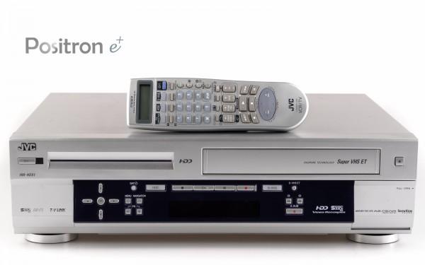 JVC HM-HDS1 silber SVHS HDD Recorder