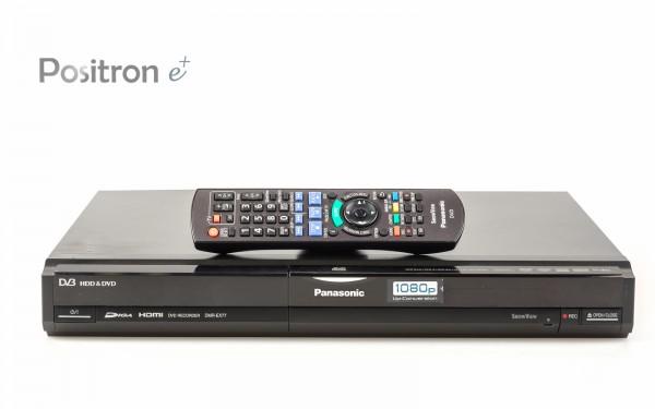Panasonic DMR-EX77 DVD HDD Recorder schwarz
