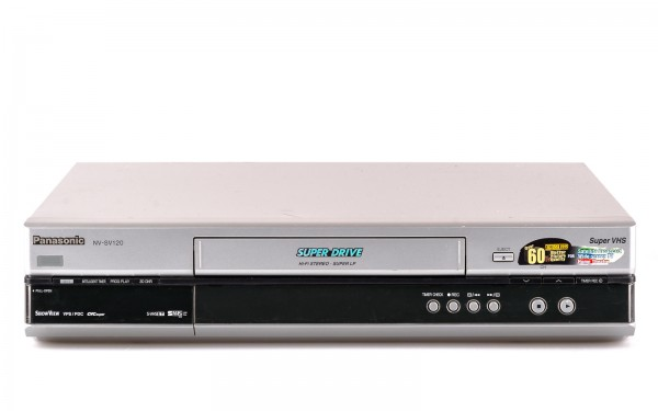Panasonic NV-SV120 SVHS Videorecorder silber