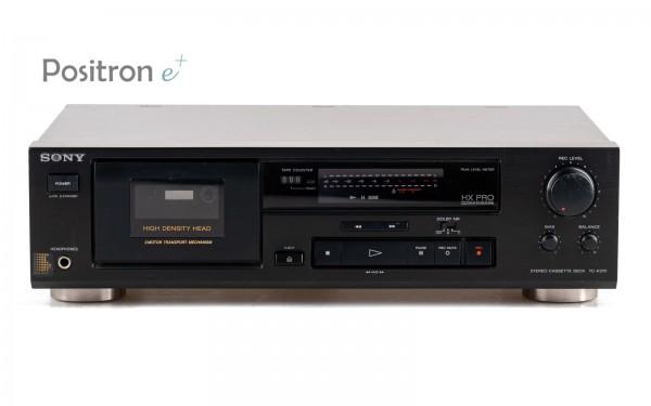 Sony TC-K370 Kassettendeck schwarz