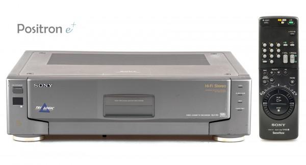 Sony SLV-E9 silbergrau High End VHS Videorecorder