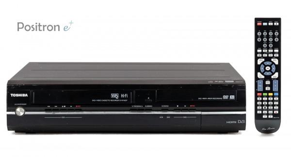 Toshiba D-VR18DT DVD VHS Recorder