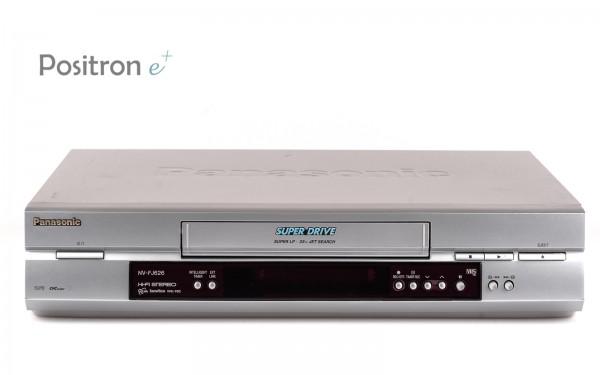 Panasonic NV-FJ626 VHS Videorecorder silber
