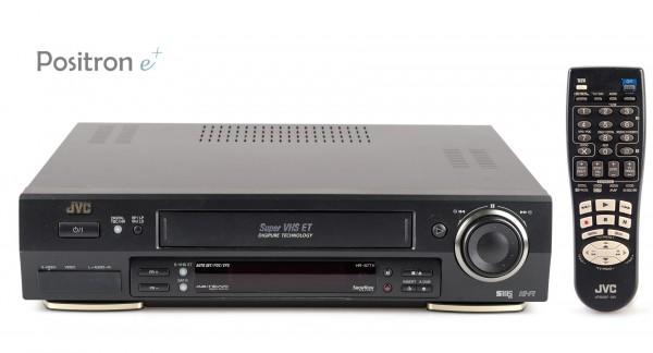 JVC HR-S7711 SVHS Videorecorder schwarz